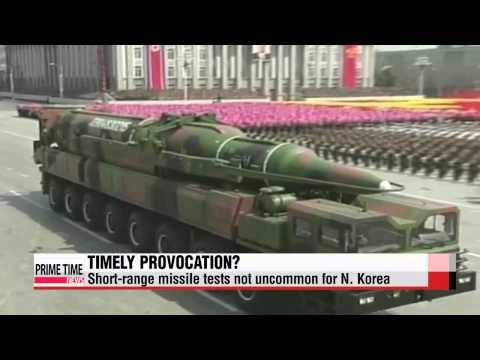 N. Korea fires two short-range missiles ahead of U.S. defense chief′s visit to S