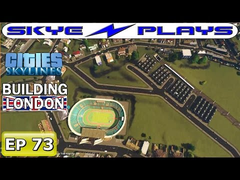 Cities Skylines London #73 ►The Track!◀ [Timelapse/Commentary]
