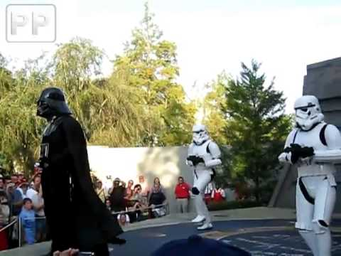 Darth Vader bailando Can't touch this