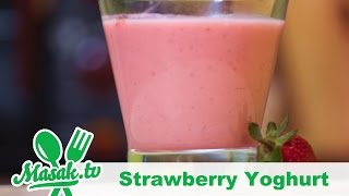Strawberry Yoghurt | Minuman #055