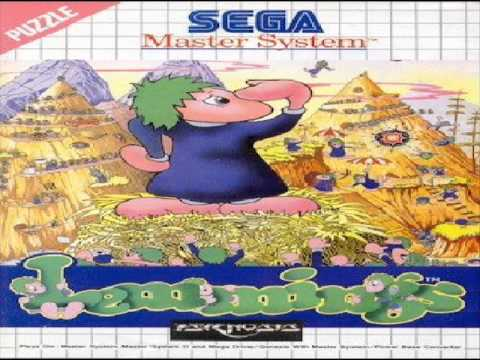 Sega Master System Lemmings Music - Lemming 2 (Miners and Climbers)