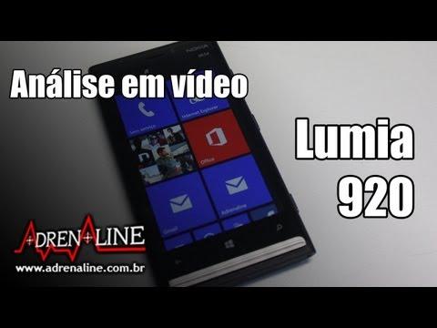 Análise em vídeo do Nokia Lumia 920