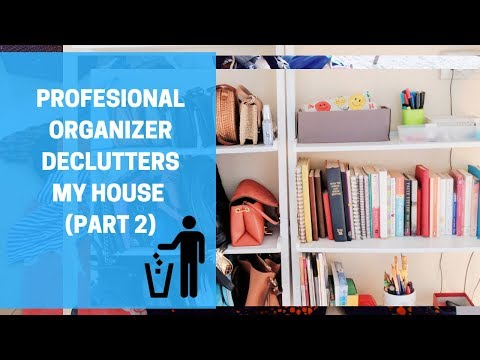 PROFFESIONAL ORGANIZER DECLUTTERS MY HOUSE Part 2 #DEBTEMBER DAY 19