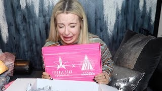 unboxing Shane & Jeffree's PR BOX and crying/first reaction to the Tanacon shade