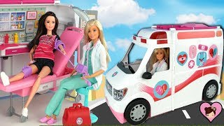 Barbie Doll Ambulance and Hospital Playset - Best Barbie Toy!