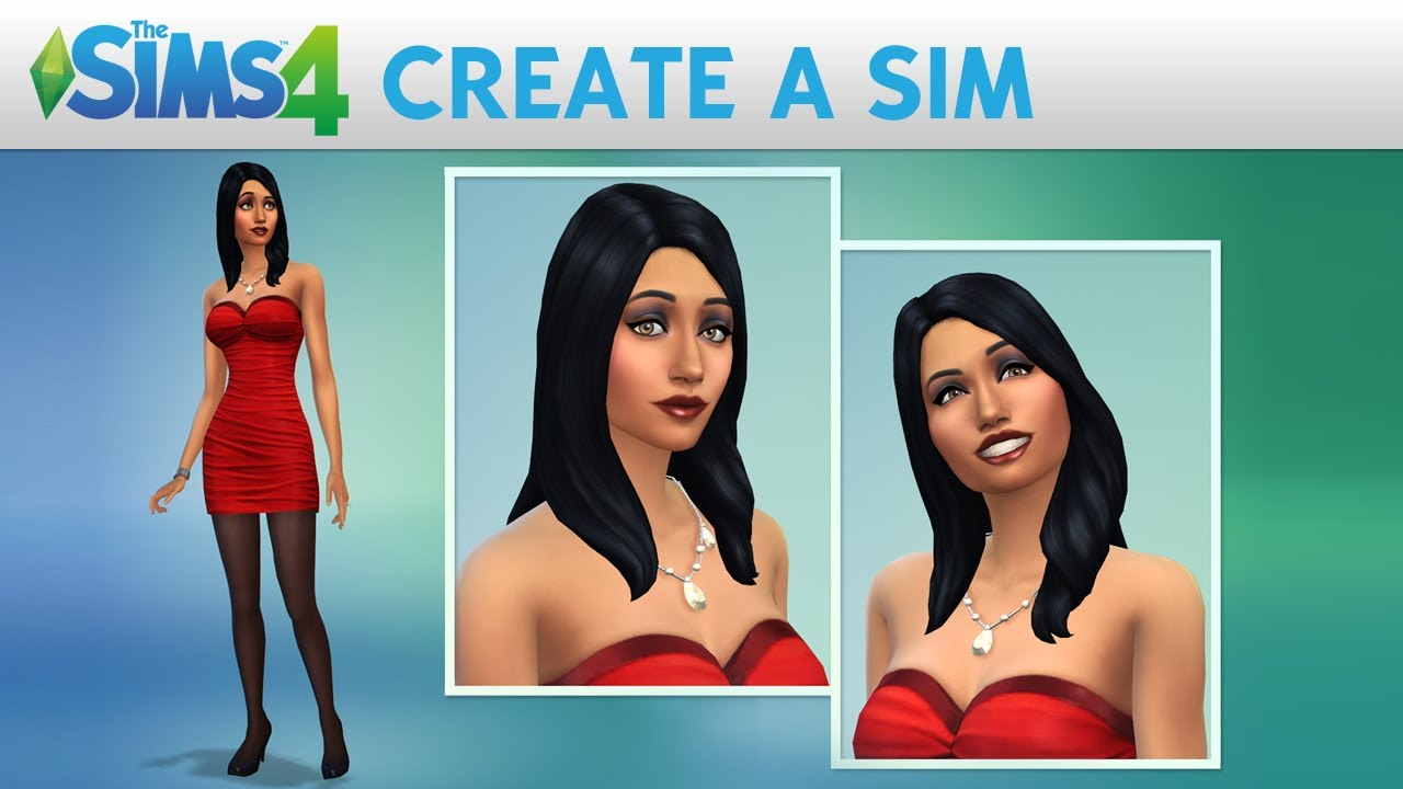 The sims 4 create a sim official gameplay trailer youtube for Sims 4 raumgestaltung