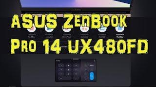 Обзор ноутбука ASUS Zenbook UX480FD