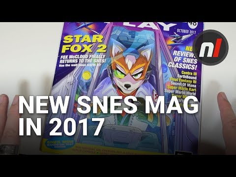 Let's Get '90s with a New SNES Magazine in 2017