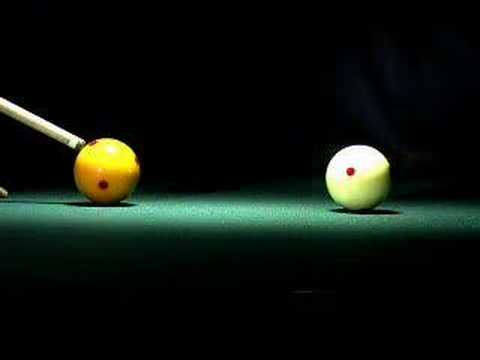 Amazing Billiards in Super Slow Motion