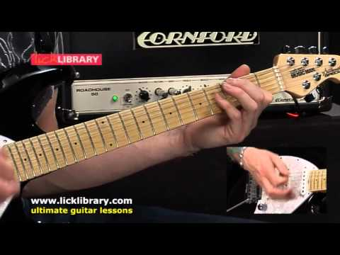 Confidence Man Guitar Lesson Jeff Healey By Jamie Humphries Licklibrary