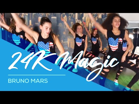 24K Magic - Bruno Mars - Easy Fitness Dance Kids Teens Choreografie Baile Bailar
