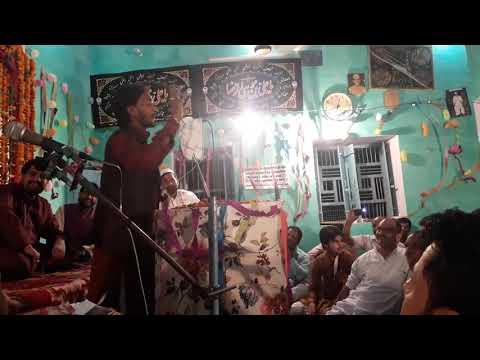 Shabab Jalalpuri 2018 Jashan e Qasim a.s Jarcha Sadat