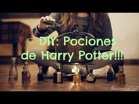 ♡ DIY: Pociones de Harry Potter!!!