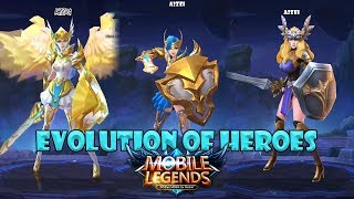 Mobile Legends Evolution of Heroes