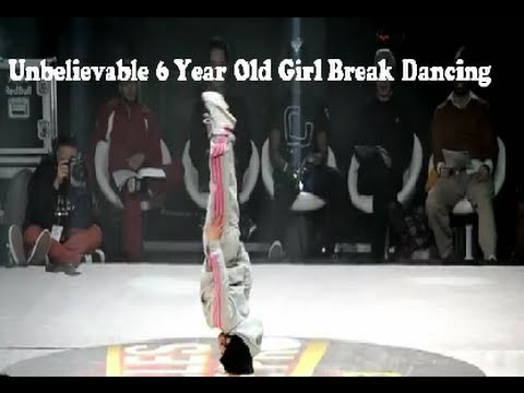 Unbelievable 6 Year Old Girl Break Dancing video