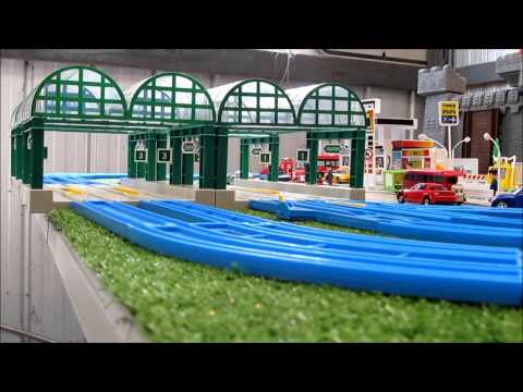 Trackmaster Proteus Belle Stepney and Flora reviews and first runs 2012 edward mod and layout update