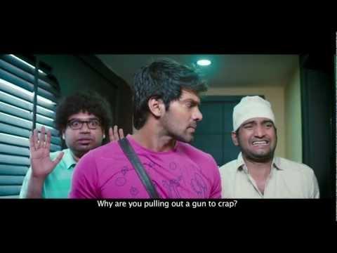 Settai film Official Trailer - Arya -Santhanam - Premgi - Hansika...