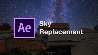 After Effect - Sky Replacement Milky Way