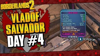 Borderlands 2 | Salvador Vladof Allegiance Playthrough Funny Moments And Drops | Day #4