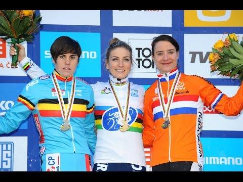 Full Replay | Elite Women's Race | 2015 UCI Cyclo-cross World Championships - Tábor, Czech Republic