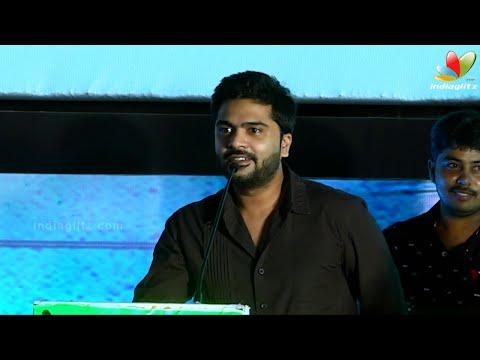 Simbu Emotional Speech At Inimey  Ippadithaan Audio Launch