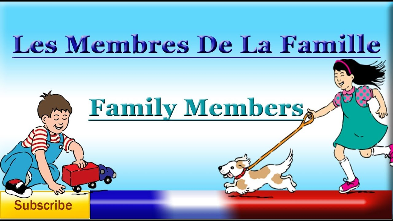 French lesson 23 learn french family members vocabulary - Grange les meubles de famille ...