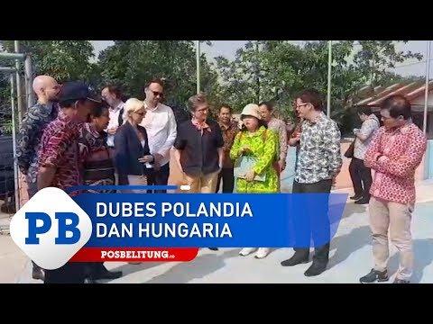 Dubes Polandia dan Hungaria Meninjau Ipal Komunal Juru Seberang Belitung