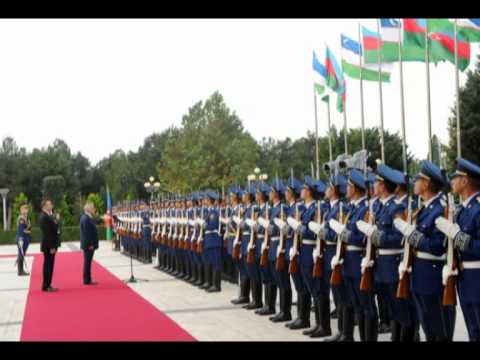 Ilham Aliyev  Uzbekistan,Azerbaijan are countries with huge economic and financial potential