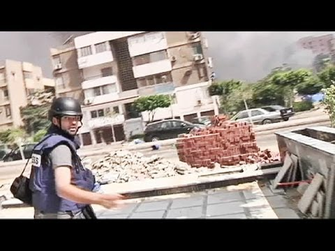 euronews' correspondent covers the Cairo clashes - no comment