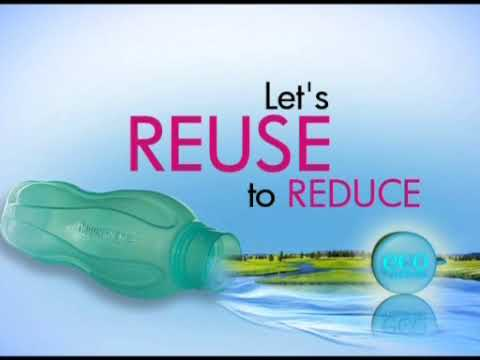 Eco Bottle: Your solution to REUSE and REDUCE