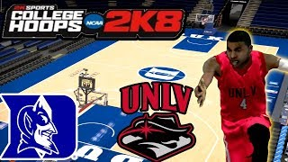 College Hoops 2K8 - MyCareer - One & Done? Or Graduate? - UNLV Vs Duke! -