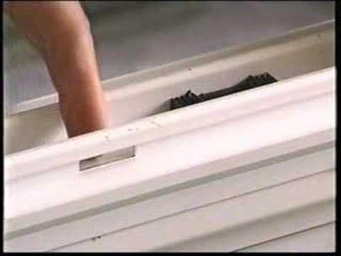 Алюминиевая раздвижная рама : регулировка замок - защелки на.