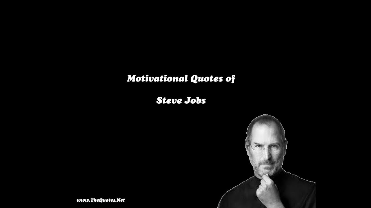 steve jobs quotes youtube