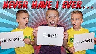 Never Have I Ever Challenge - Shocking Secrets Revealed!!