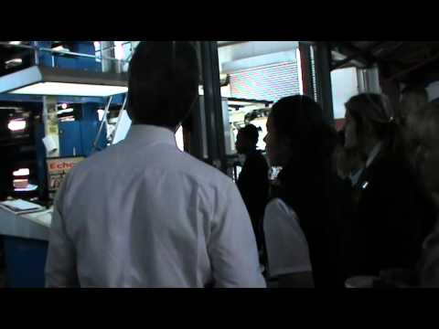 Middelburg High School gets a tour trough the Middelburg Observer