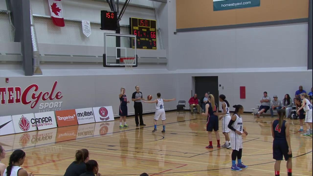 U15 Girls - Nova Scotia vs. Alberta