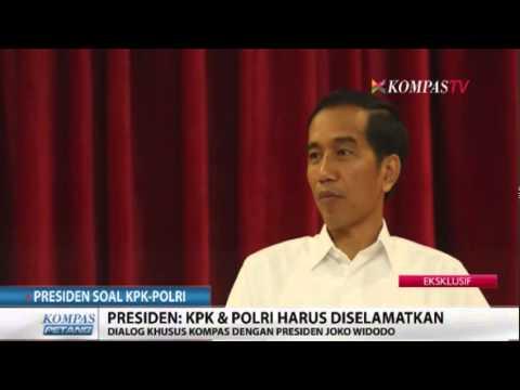 Presiden Joko Widodo Bicara KPK vs Polri