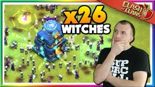 Mass Witch Attacks in LEGENDS LEAGUE | Clash of Clans