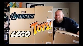 I PAID $188 for a $1,609 Amazon Customer Returns TOYS & COLLECTIBLES Pallet + LEGO & MARVEL INSIDE!