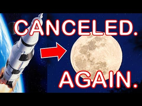 Moon Mission Canceled - AGAIN...Hmm, Anyone else Notice a Pattern here?