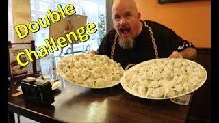 DOUBLE CHALLENGE - 68 dumpling challenge x 2 Sang Kee Noodle House