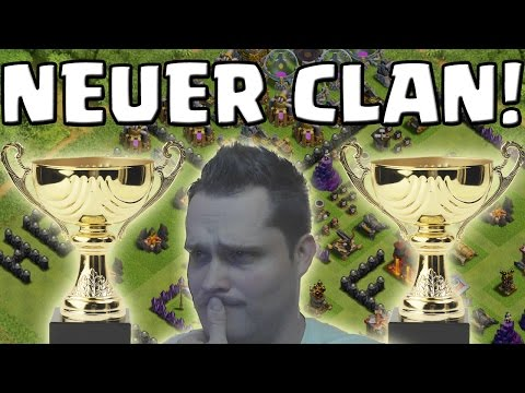[facecam]POKAL JAGD CLAN! || CLASH OF CLANS || Let's Play CoC [Deutsch/German Android iOS HD]