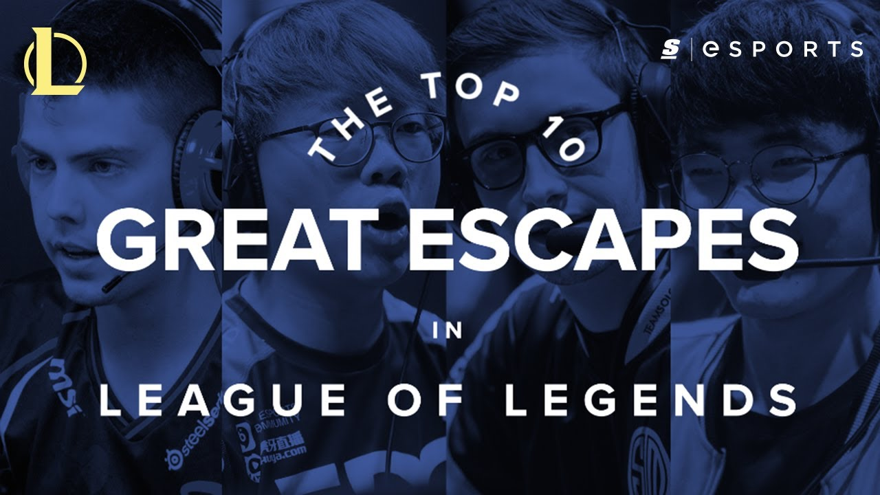 The Top 10 Great Escapes in League of Legends