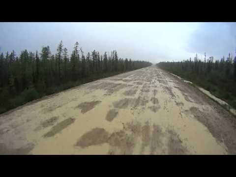 Lena highway rain mud