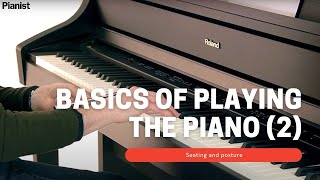 Basics of Playing the Piano: hand shape and hand position (2)