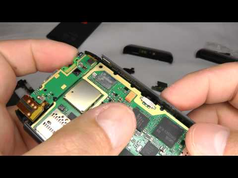 Nokia N8 Disassembly &amp; Assembly - Case Replacement