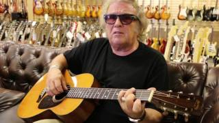 Don Mclean American Pie Playing A 1954 Martin 00 21 At Norman 39 S Rare Guitars