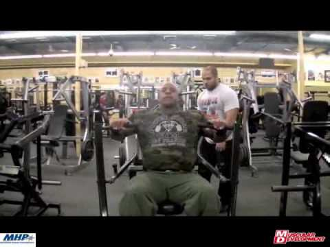 Victor Martinez Chest Workout Bev Francis Powerhouse Gym Video
