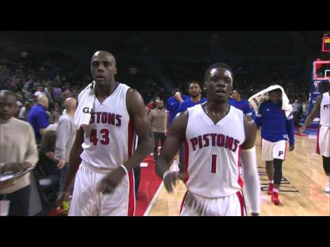 MIlwaukee Bucks vs Detroit Pistons - December 4, 2015