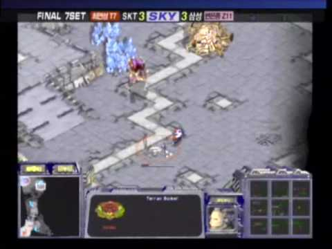 ILoveOOv v JJu (P1/2) '05 Proleague Finals S7 [VR] 1/21/05